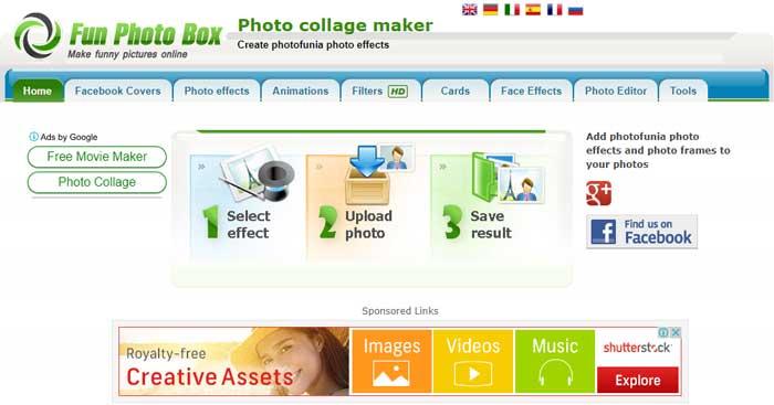 Edit Foto Online Fun Photo Box