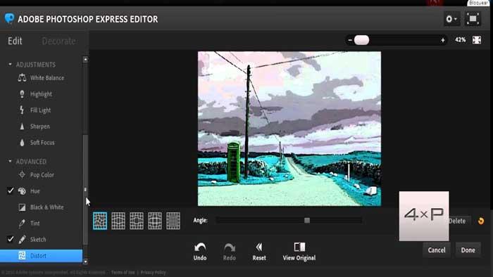 Edit Foto Online Photoshop Express