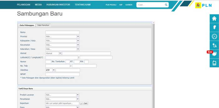 Pln Online Cara Pasang Listrik Online Terbaru 2020