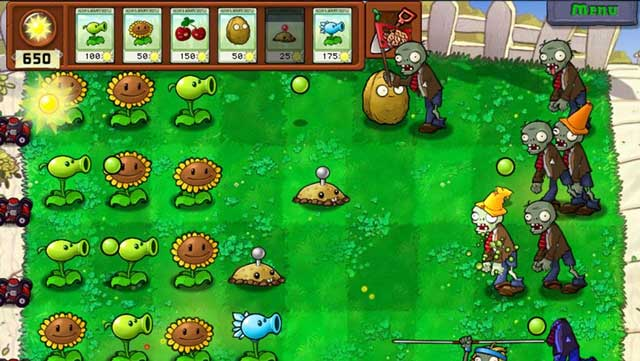Game PC Ringan Plant vs Zombies