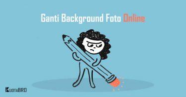 Ganti Background Foto Online