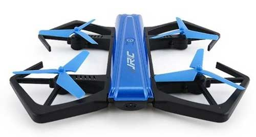 JJRC Foldable Drone, One-Key Folded In Half H43WH