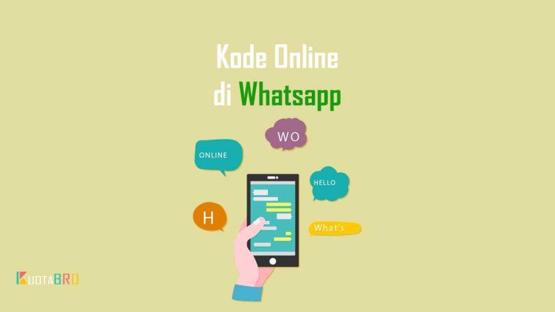 Kode Online di Whatsapp