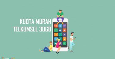 Kuota Murah Telkomsel 30GB