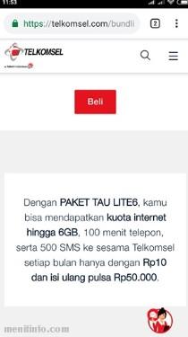 Kuota Murah Telkomsel