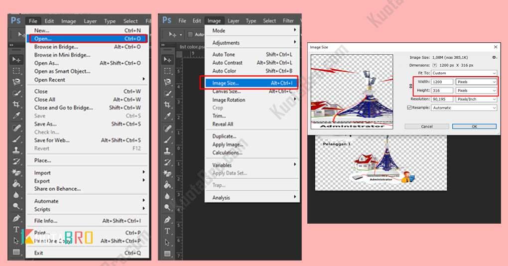 Memperbesar Ukuran Foto dengan Adobe Photoshop