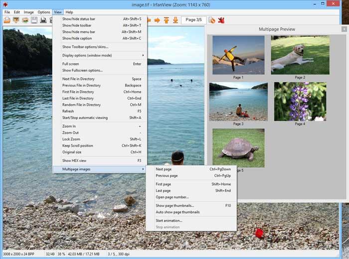 Memperbesar file JPG dengan Software Irfanview