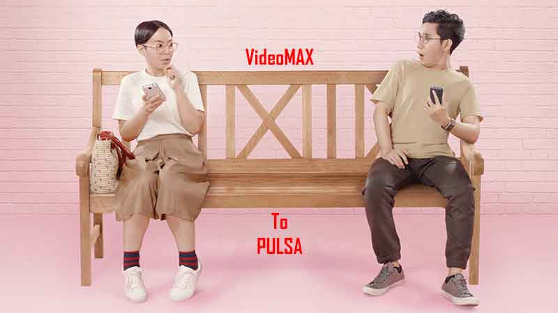 Mengubah Kuota VideoMAX Menjadi Pulsa