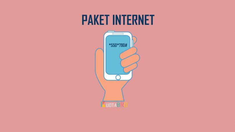 Paket Internet*550*790# Telkomsel