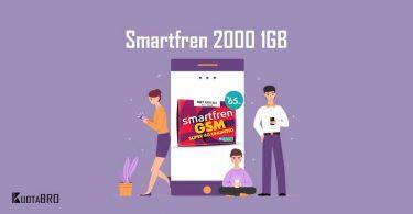 Paket Internet Smartfren 2000 per GB