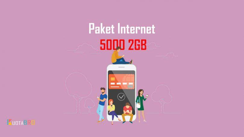 Paket Internet Telkomsel 5000 2GB