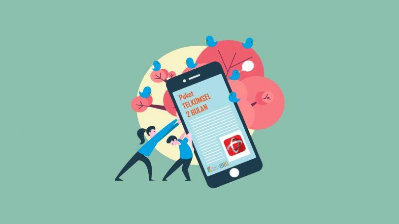 Paket Internet Telkomsel Masa Aktif 2 Bulan
