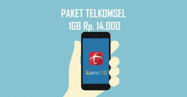 Paket Telkomsel 1GB Rp. 14.000