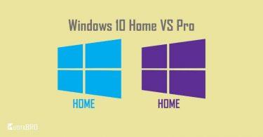 Perbedaan Windows 10 Home dan Pro