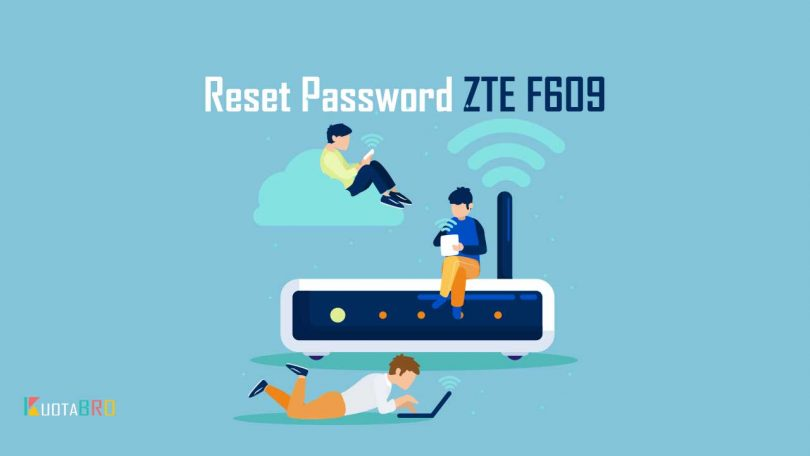 Reset Password ZTE F609