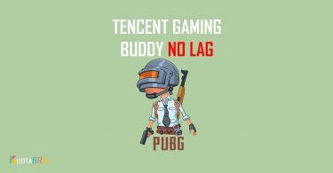 Setting Tencent Gaming Buddy No Lag