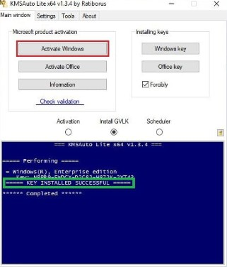 Toolkit Activated WIndows