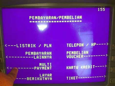 Top Up M-TIX via ATM Mandiri