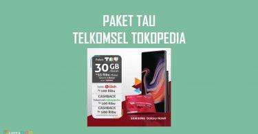 Paket TAU Telkomsel Tokopedia