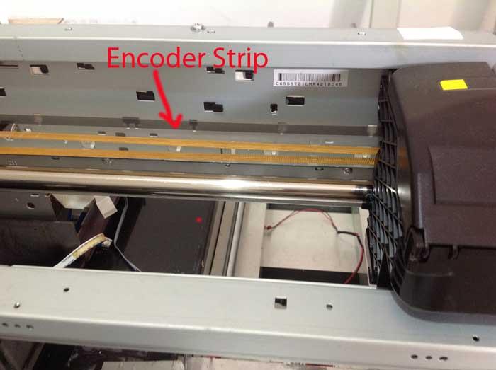 Bersihkan Encoder Strip