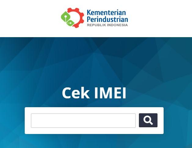 Cek Status IMEI HP di Kemenprin