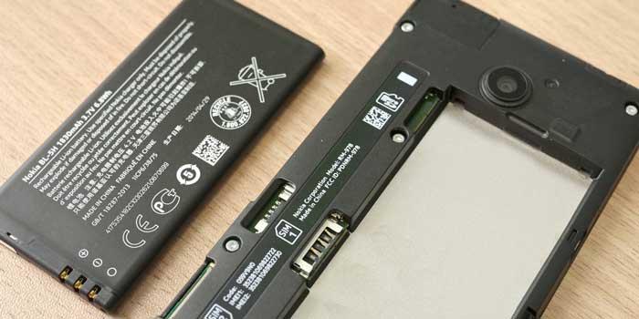 Gunakan Baterai Lain