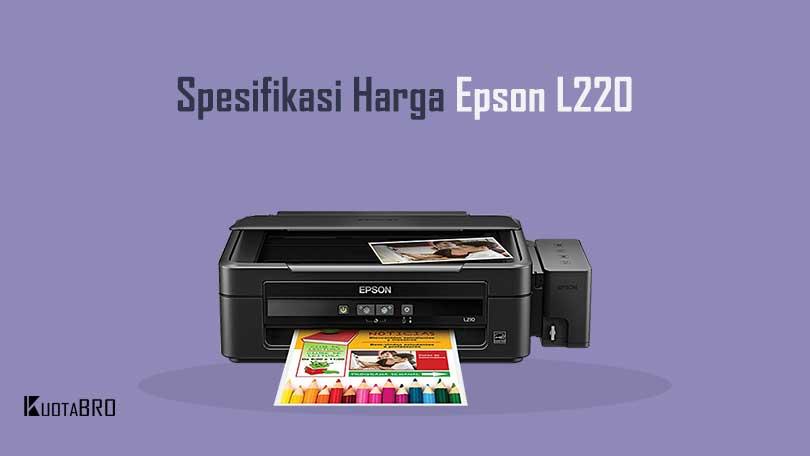 Spesifikasi Harga Epson L220