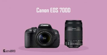 Spesifikasi dan Harga Canon EOS 700D