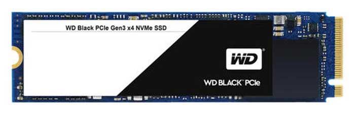 WD Black PCIe NVMe Series
