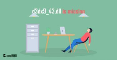 d3dx9_43.dll is missing