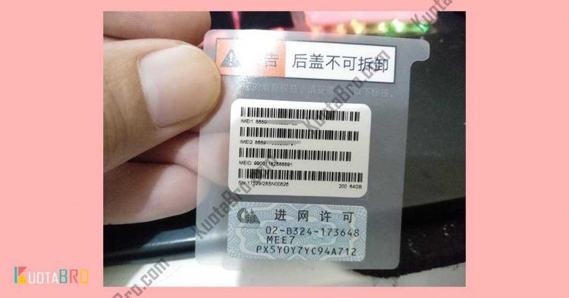 Cara Cek IMEI Xiaomi pada Perangkat
