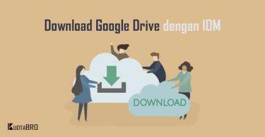 Cara Download Google Drive dengan IDM