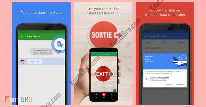 aplikasi translate terbaik online Google Translate