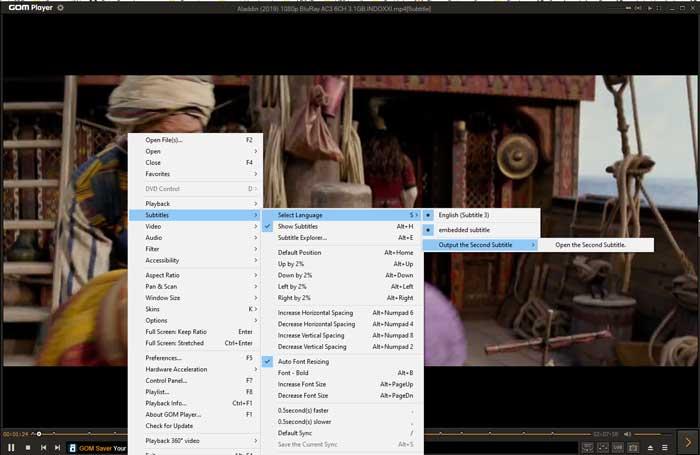 Menampilkan Subtitle di Gom Player