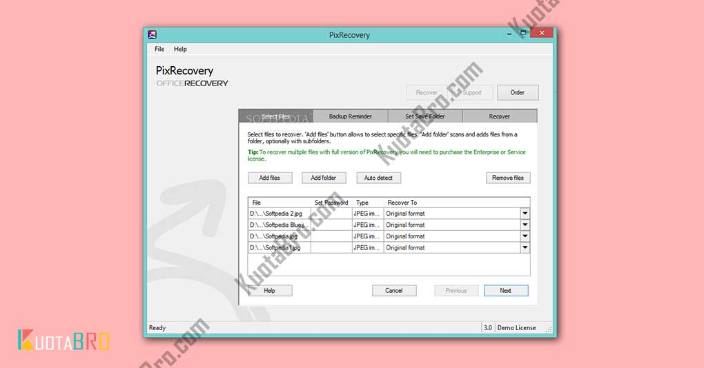 Software PixRecovery