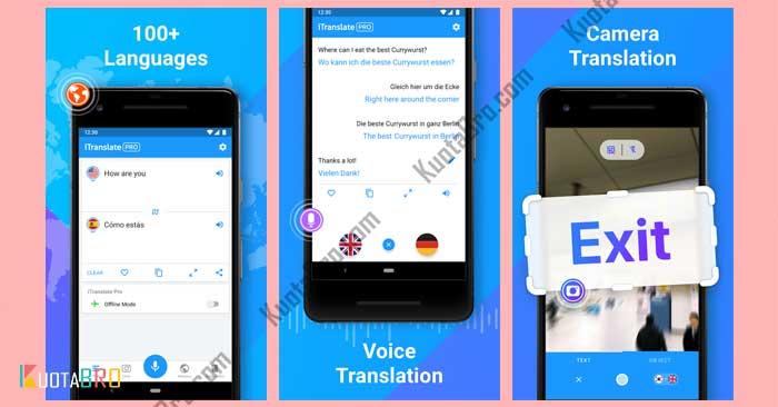 aplikasi translate terbaik iPhone iTranslate