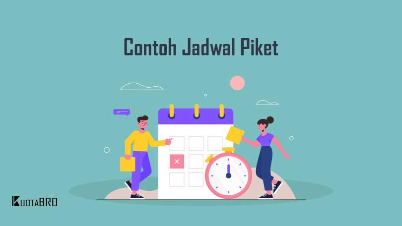 Download 7 Contoh Jadwal Piket Unik Dari Karton Cara Membuatnya