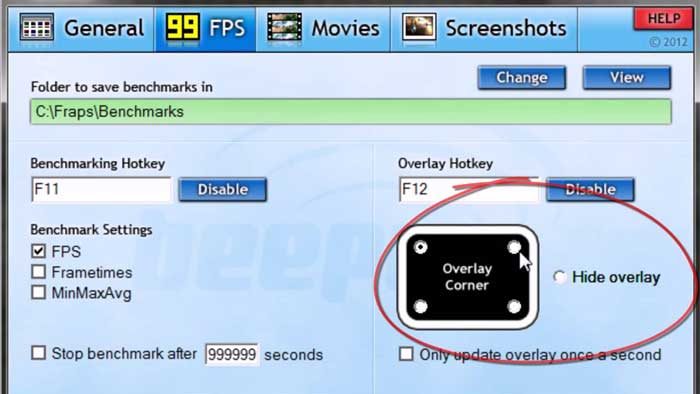 Cek FPS Di Game Menggunakan FRAPS