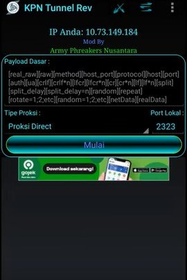 Download dan instal aplikasi KPN Tunnel Revolution