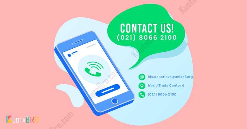Hubungi Layanan Donatur Melalui Telepon