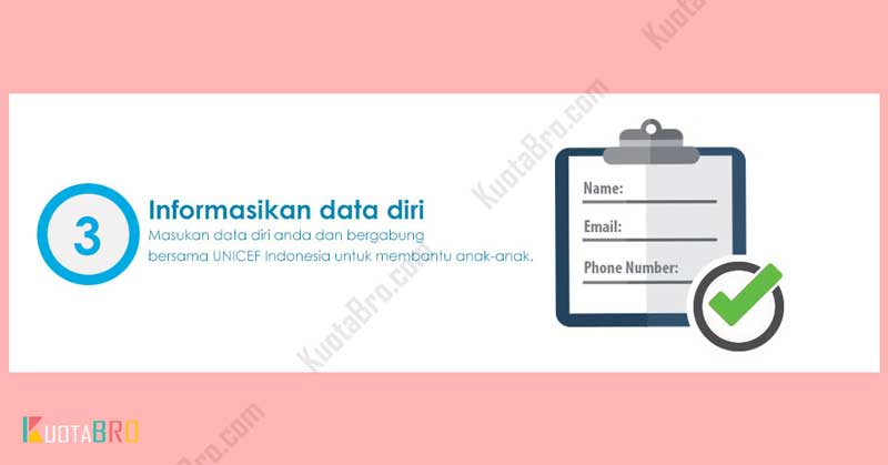 Informasikan Data Diri