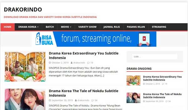 Masuk ke situs drakorindo.cc