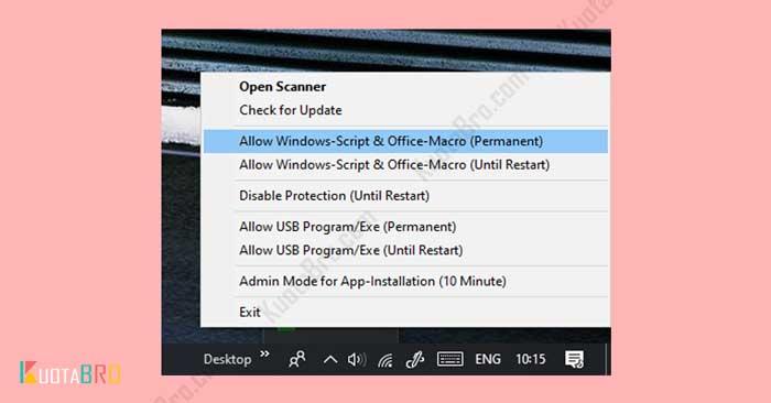 Mengatasi Windows Script Host Menggunakan Smadav