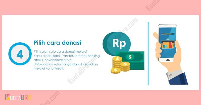 Pilih Pembayaran Donasi