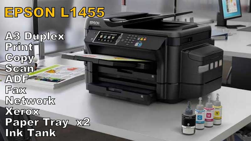 Review Epson L1455 A3 Wifi