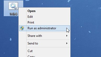 Run the batch file as administrator