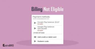 Telkomsel Billing Not Eligible