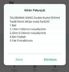 paket nelpon Simpati murah Talkmania siang