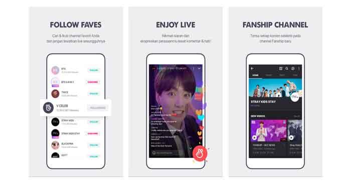 Apa itu Aplikasi V-live