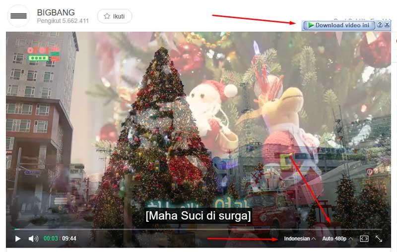Cara Download VIdeo di V Live menggunakan IDM